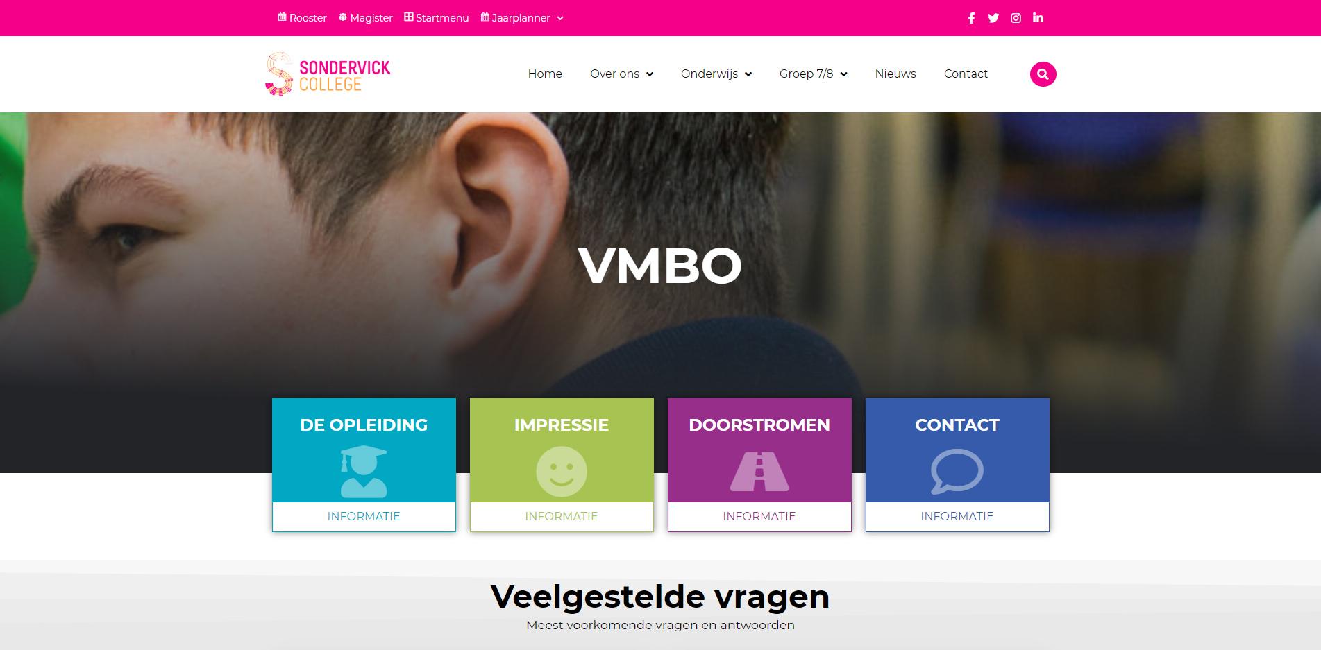 sondervick-vmbo