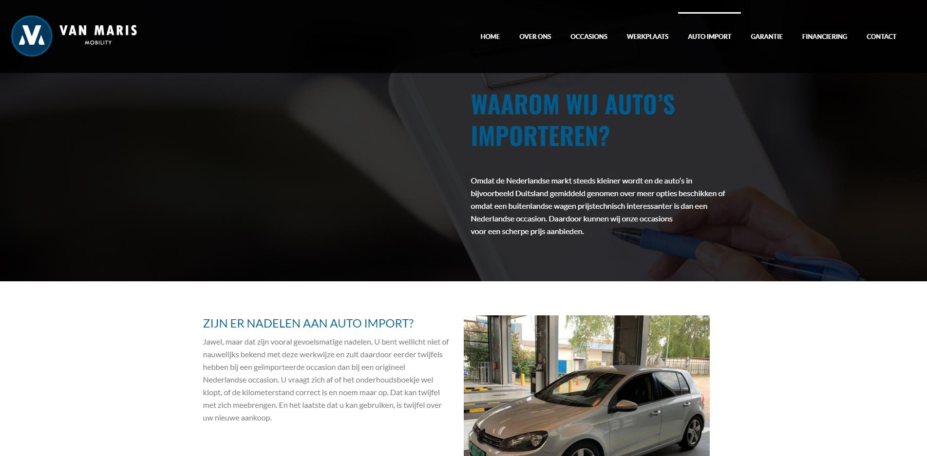 vanmarismobility-autoimport